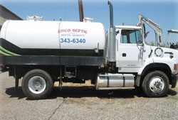 leading septic company chico