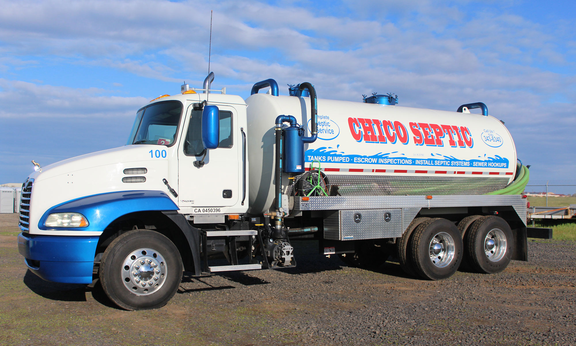 complete septic service chico california
